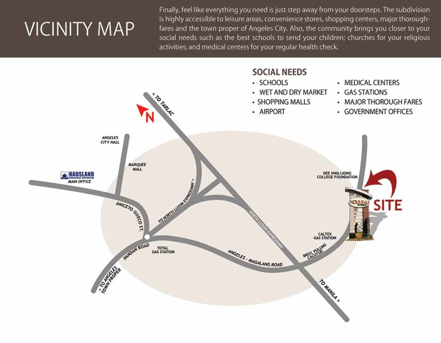 Vicinity Map