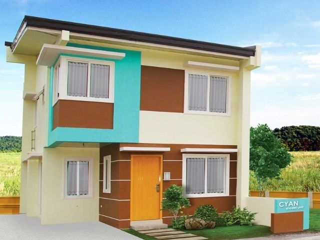 house and lot in angeles city - cyan model unit