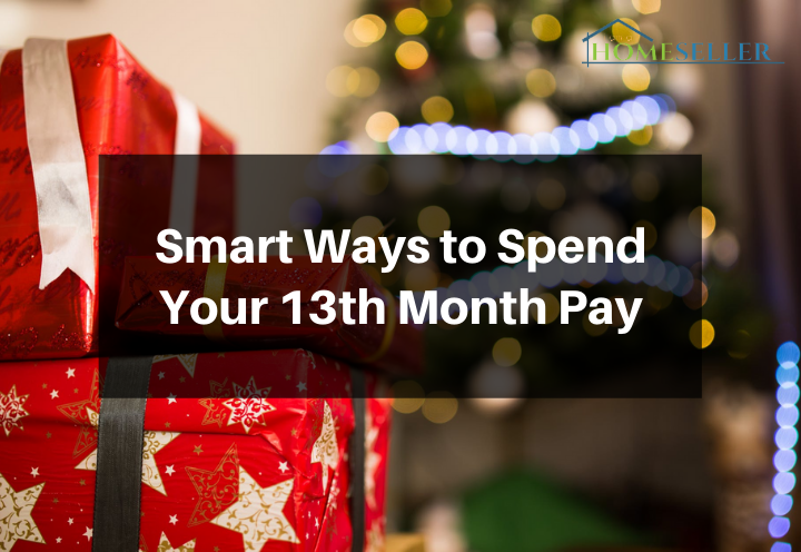smart ways to spend your 13th month pay