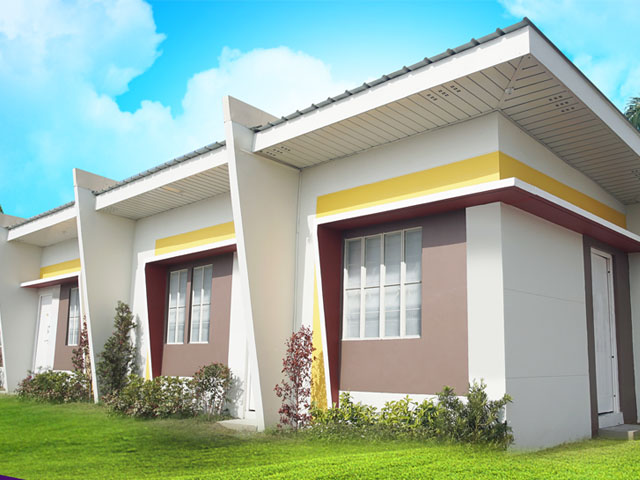 House and Lot in Mexico, Pampanga - Row House Improved