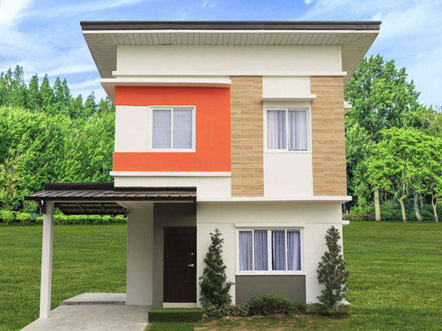 House and Lot in Angeles City - Russet Model Unit